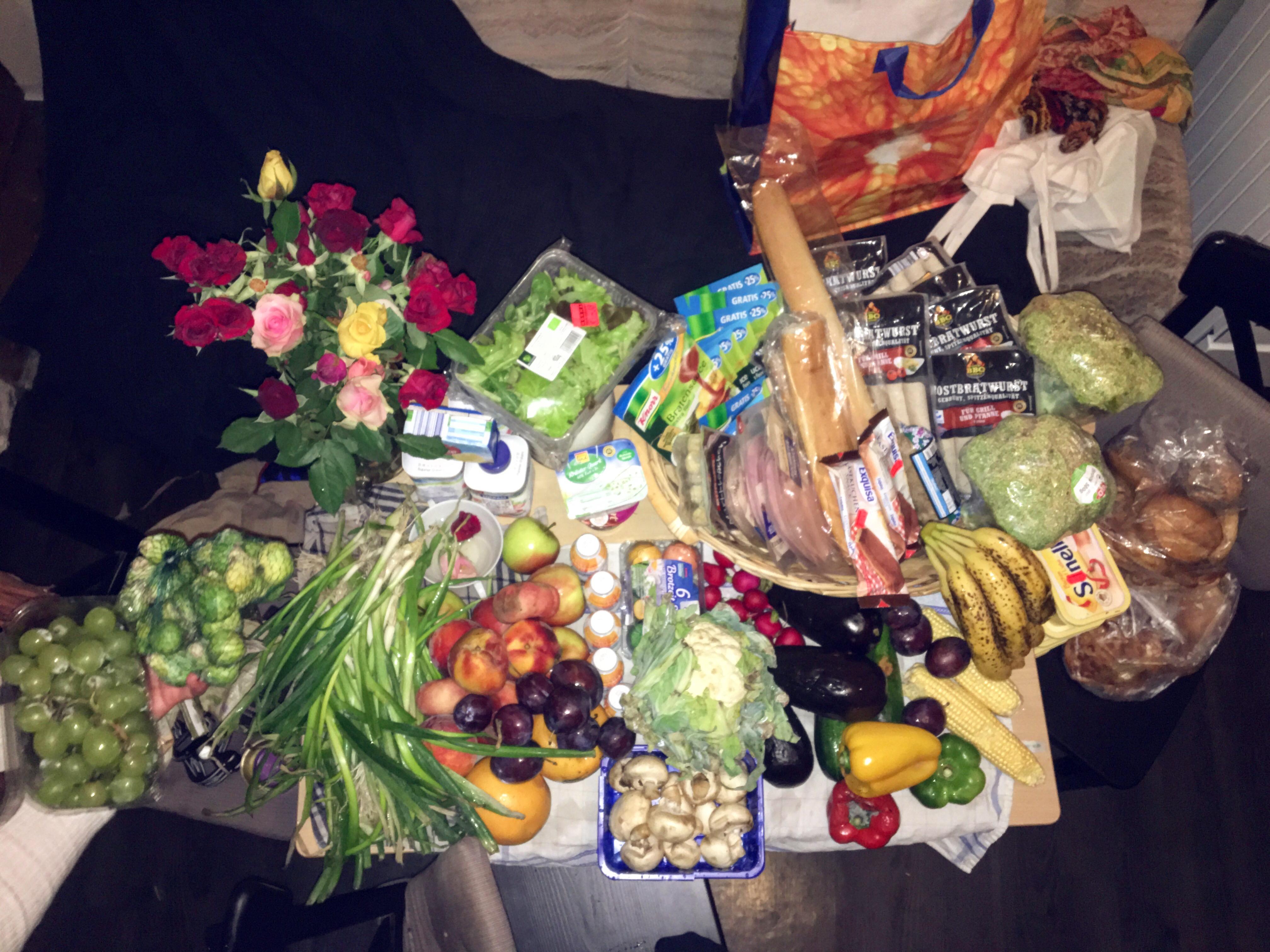 Große Mengen Essen